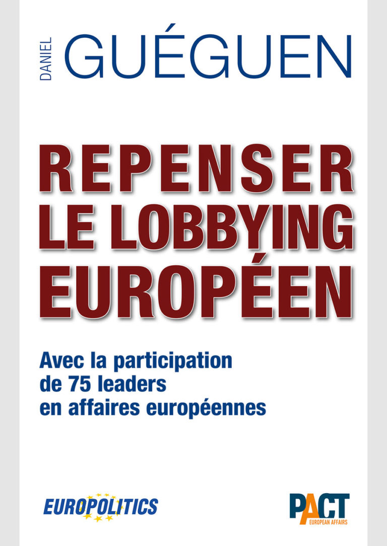 Book Repenser le lobbying europeen